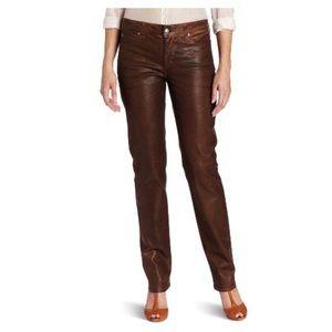 NYDJ Terra Tan Sheri Skinny Jeans SZ 16